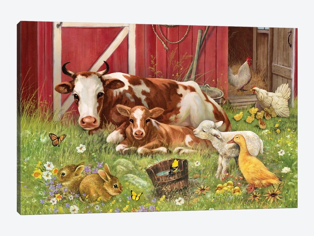 Barnyard Babies by Greg & Company 1-piece Art Print