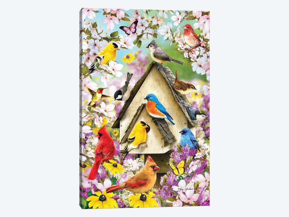 Spring Birds And Dogwood by Greg & Company 1-piece Canvas Art
