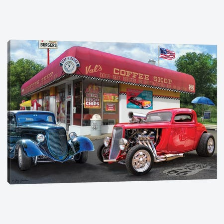 Vals Nostagic America Canvas Print #GRC51} by Greg & Company Canvas Print
