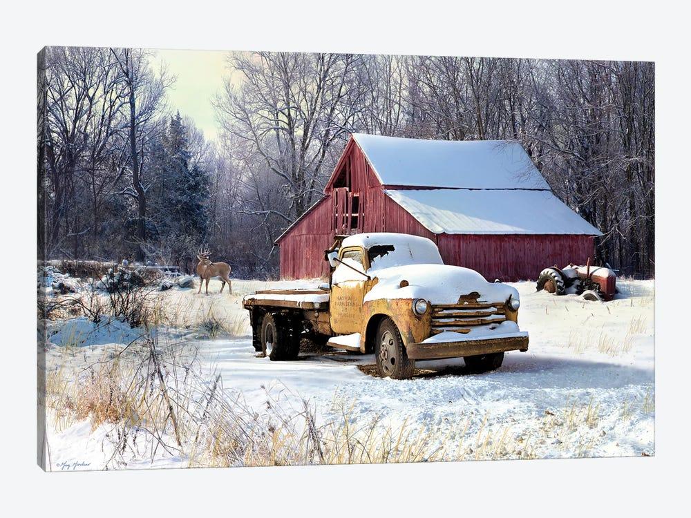 Winter Truck by Greg & Company 1-piece Canvas Art