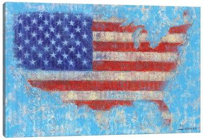 American Flag Canvas Art Print