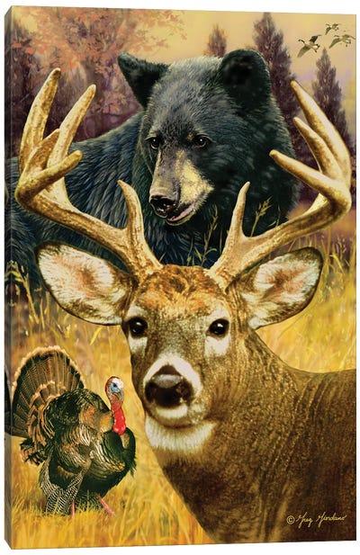 Hunter's Dream Canvas Art Print