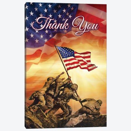 Thank You Canvas Print #GRC78} by Greg & Company Canvas Print