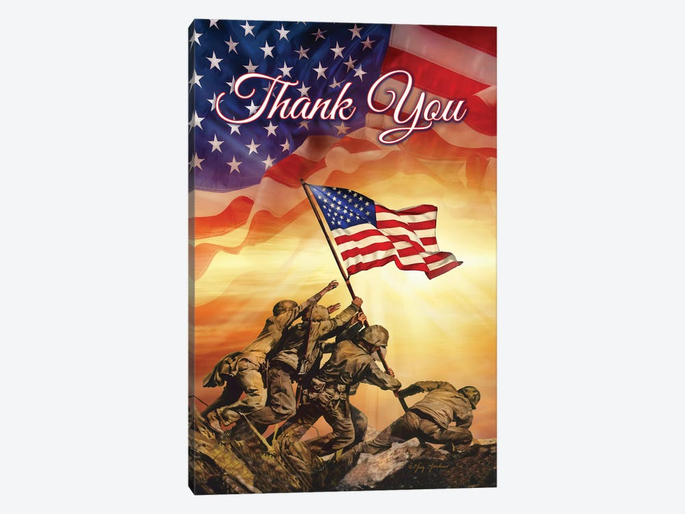 Thank You by Greg & Company 1-piece Canvas Wall Art