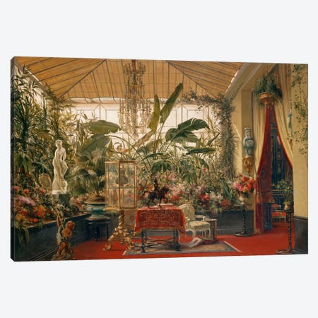 Véranda De La Princesse Mathil Canvas Print #GRD1} by Charles Giraud Canvas Artwork
