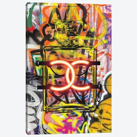 CC Neon Graffiti Canvas Print #GRE150} by Amanda Greenwood Canvas Art Print