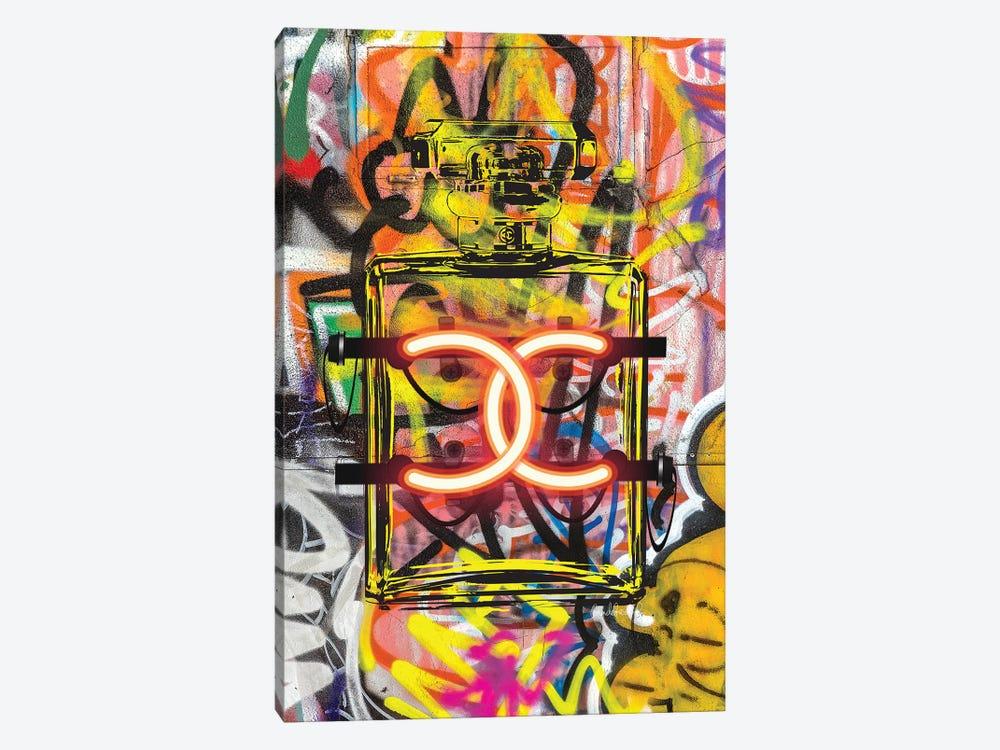 CC Neon Graffiti by Amanda Greenwood 1-piece Canvas Art Print