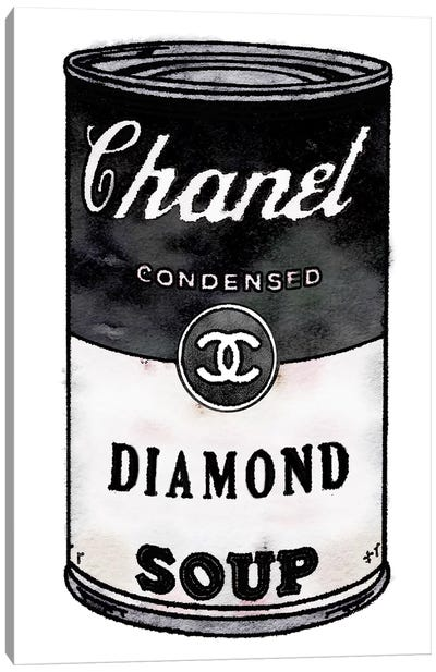Diamond Soup Canvas Art Print