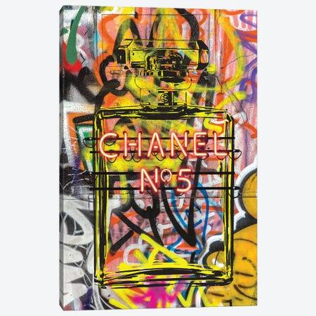 Neon Perfume Canvas Print #GRE176} by Amanda Greenwood Canvas Artwork