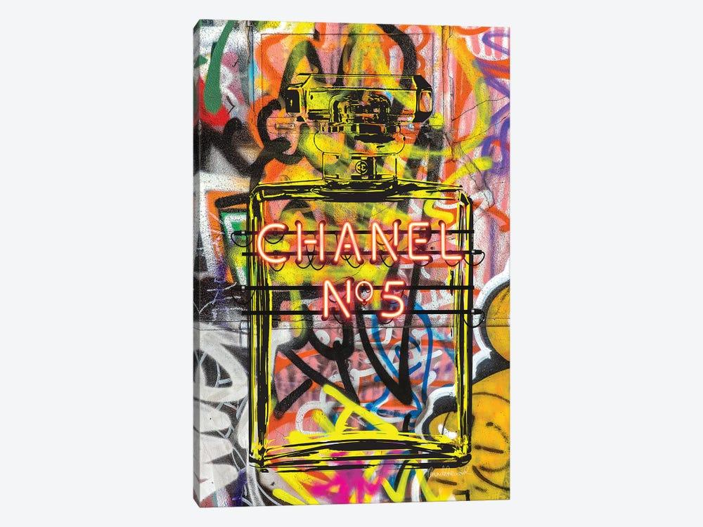 Neon Perfume by Amanda Greenwood 1-piece Canvas Print