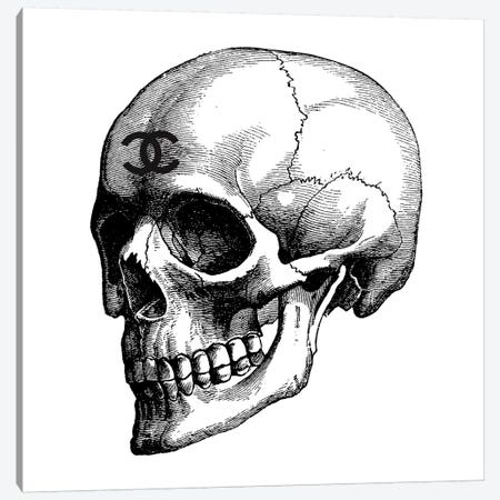 Skull Canvas Print #GRE191} by Amanda Greenwood Art Print