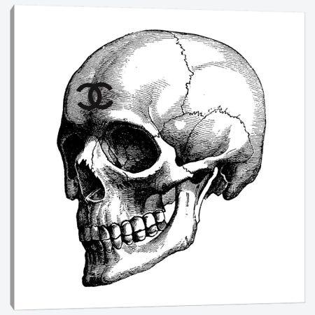 Skull Canvas Print #GRE191} by Amanda Greenwood Art Print