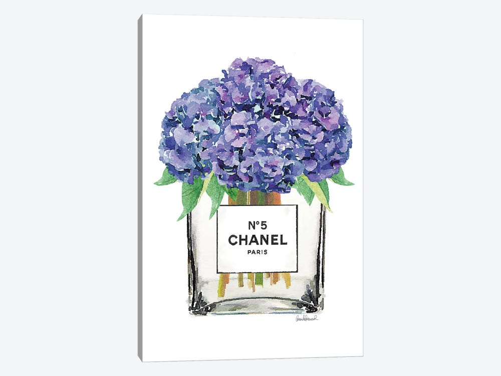Vase Of Hydrangeas 1-piece Art Print