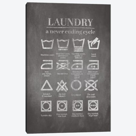 Washing Cycle Canvas Print #GRE195} by Amanda Greenwood Canvas Wall Art