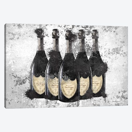 Champagne II 3-Piece Canvas #GRE201} by Amanda Greenwood Art Print