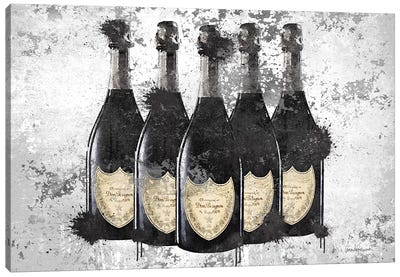 Champagne II Canvas Art Print