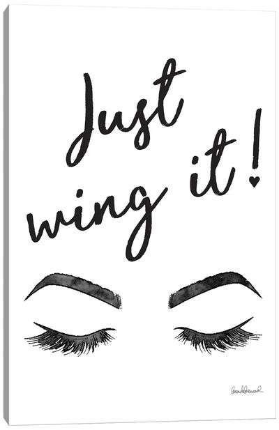 Just Wing It Canvas Art Print