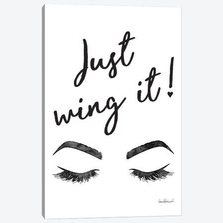 Just Wing It Canvas Print #GRE210} by Amanda Greenwood Canvas Artwork