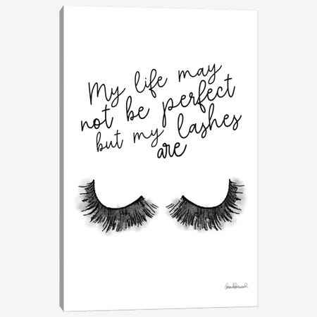 Perfect Lashes Canvas Print #GRE216} by Amanda Greenwood Art Print