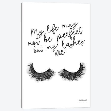 Perfect Lashes Canvas Print #GRE216} by Amanda Greenwood Art Print