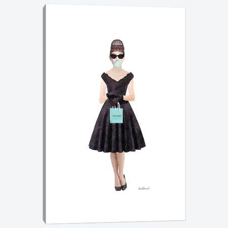 Audrey Bags Bubblegum Canvas Print #GRE238} by Amanda Greenwood Canvas Art