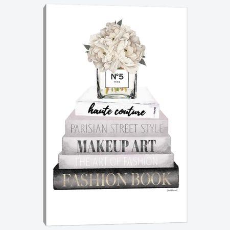 NBGREY Cream vase Hydran Canvas Print #GRE281} by Amanda Greenwood Canvas Print