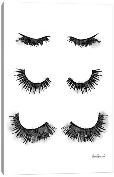 Lash Set Canvas Art Print