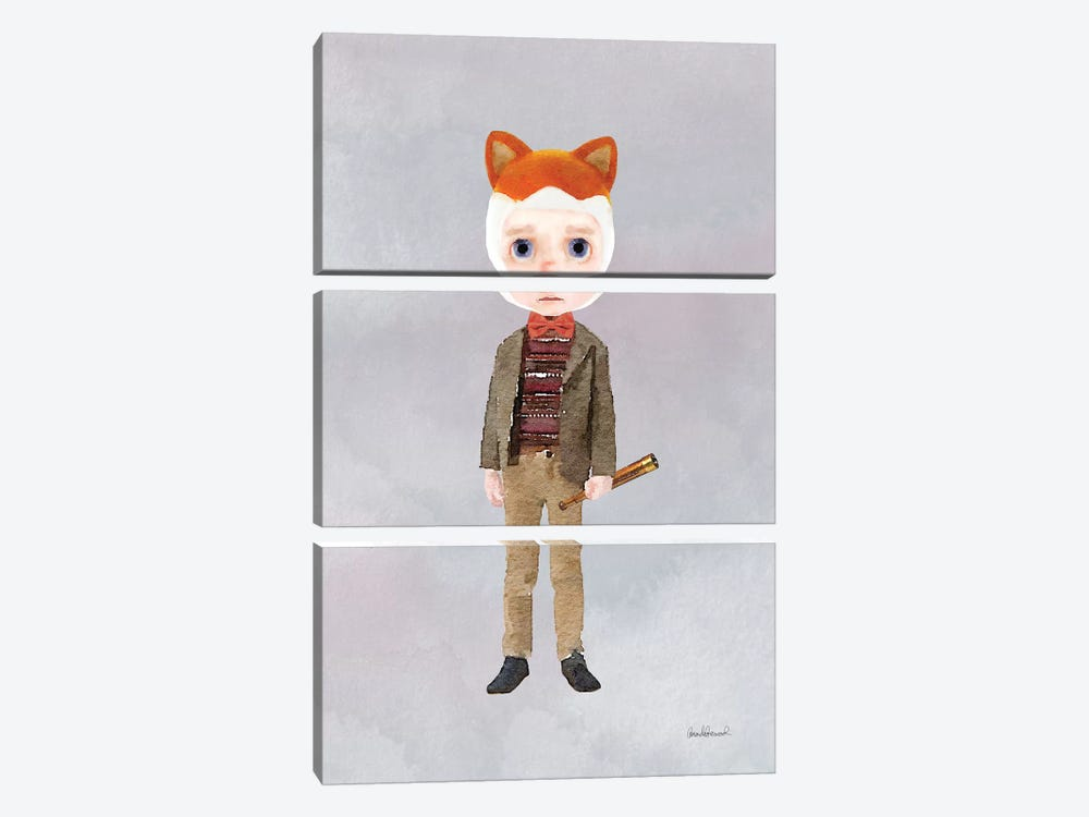 Master Sam Fox by Amanda Greenwood 3-piece Canvas Wall Art