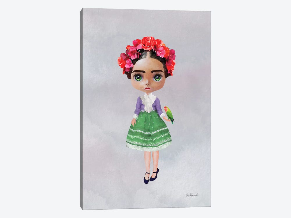 Miss Frida by Amanda Greenwood 1-piece Art Print