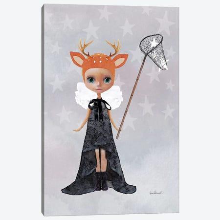 Miss Ruby Deer Starcatcher Canvas Print #GRE47} by Amanda Greenwood Canvas Art Print