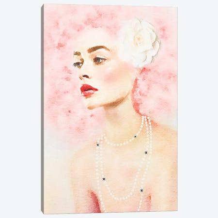 Pink Beauty Canvas Print #GRE515} by Amanda Greenwood Canvas Art