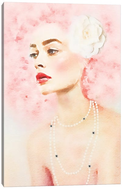Pink Beauty Canvas Art Print