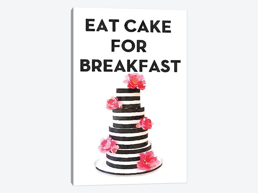 Eat Cake For Breakfast by Amanda Greenwood 1-piece Art Print