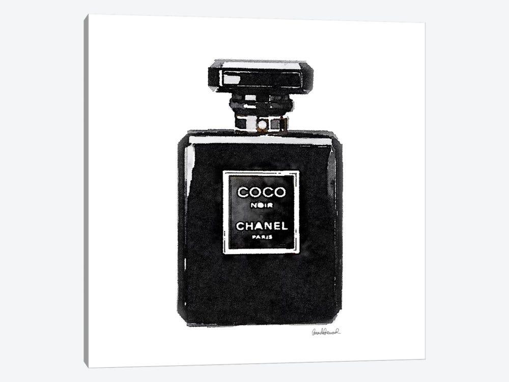 Coco Noir Perfume by Amanda Greenwood 1-piece Art Print
