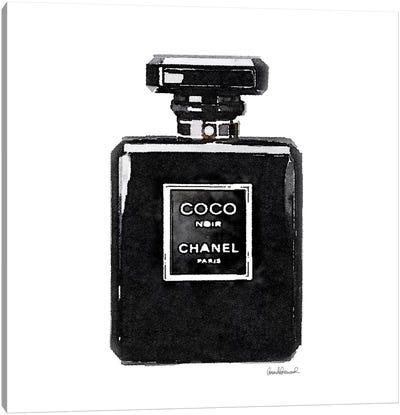 Coco Noir Perfume Canvas Art Print