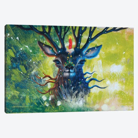 Forest Spirit Canvas Print #GRF10} by Mirta Groffman Canvas Art