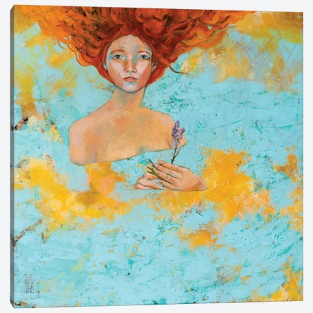 Ablution Canvas Print #GRF1} by Mirta Groffman Canvas Artwork