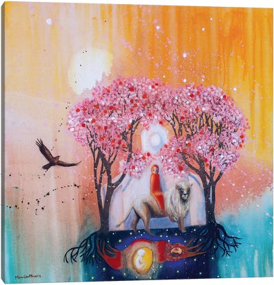 At The Turn Of Embodiment Canvas Art Print