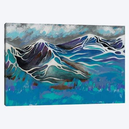 Sleeping Mountains Canvas Print #GRF35} by Mirta Groffman Canvas Print