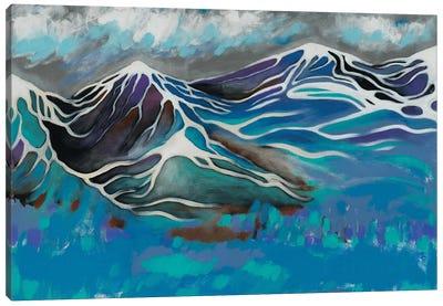 Sleeping Mountains Canvas Art Print