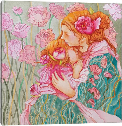 Tenderness Canvas Art Print