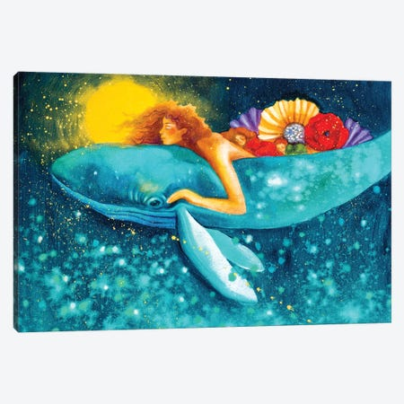 To Dream In Sleep Canvas Print #GRF45} by Mirta Groffman Canvas Artwork