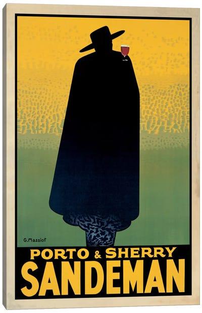 Porto And Sherry Sandeman Canvas Art Print