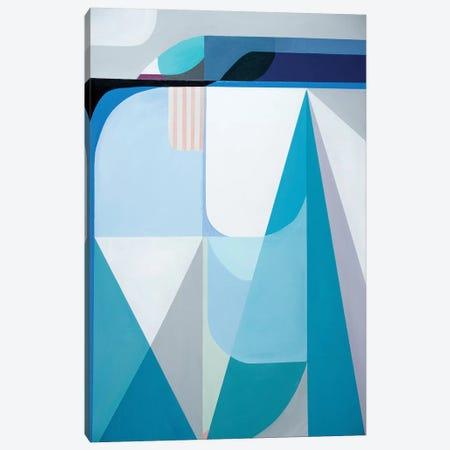 Frozen Shores Canvas Print #GRI7} by Marion Griese Canvas Art