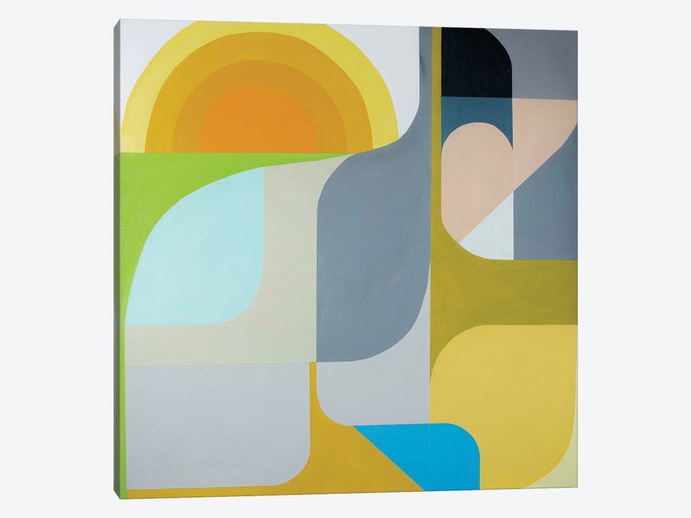 The Sun Does Shine by Marion Griese 1-piece Canvas Print