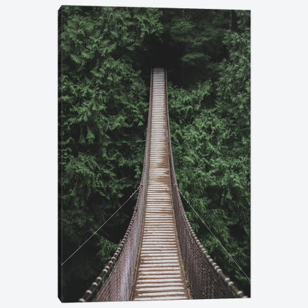 Lynn Valley Suspension Bridge Canvas Print #GRM102} by Luke Anthony Gram Canvas Art Print