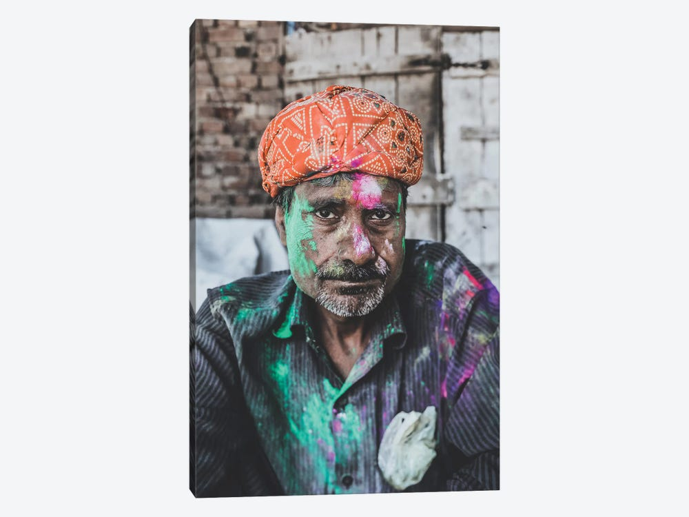 Mathura, India by Luke Anthony Gram 1-piece Canvas Artwork