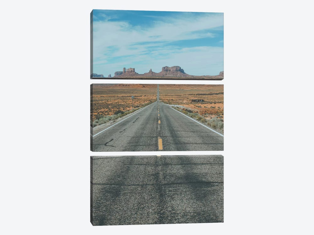 Monument Valley, Southwest USA by Luke Anthony Gram 3-piece Canvas Print