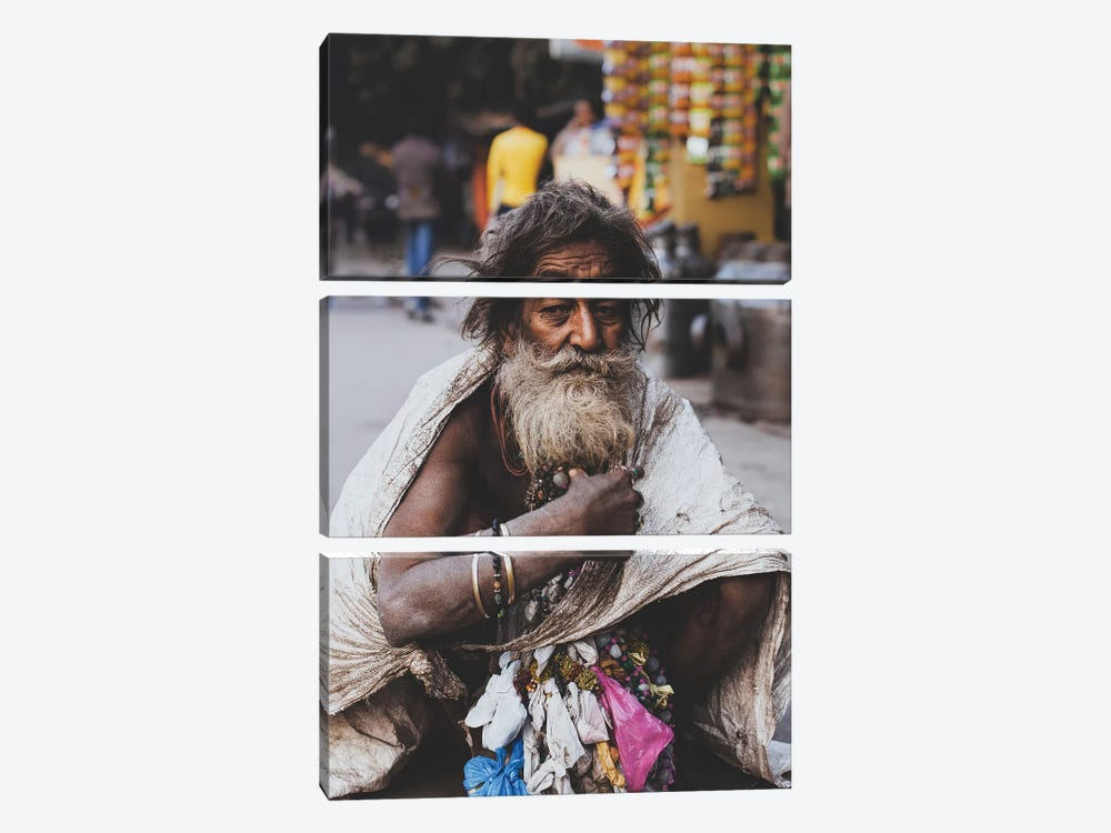 New Delhi, India I by Luke Anthony Gram 3-piece Canvas Wall Art