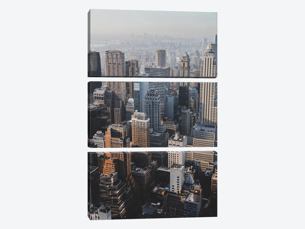 New York City I by Luke Anthony Gram 3-piece Canvas Artwork